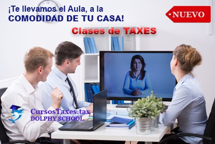 Recibe Clases de Income Tax en New York. Clases de Taxes
