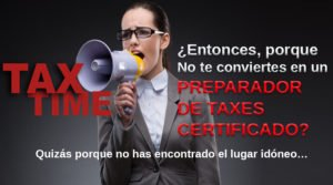 Recibe Cursos, Clases de Income Tax en San Antonio Tx, Taxes, Impuestos.
